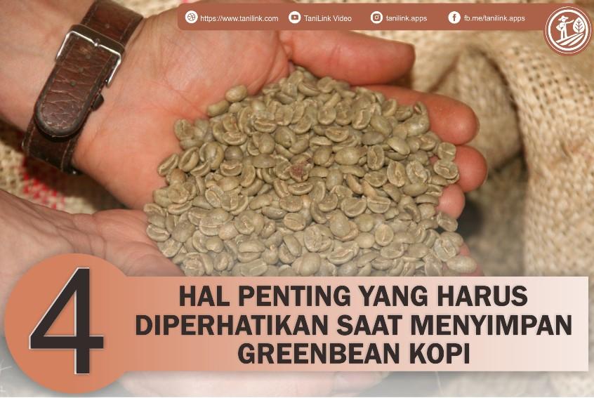 Penting! 4 hal Ini Harus Diperhatikan Saat Penyimpanan Greenbean Kopi