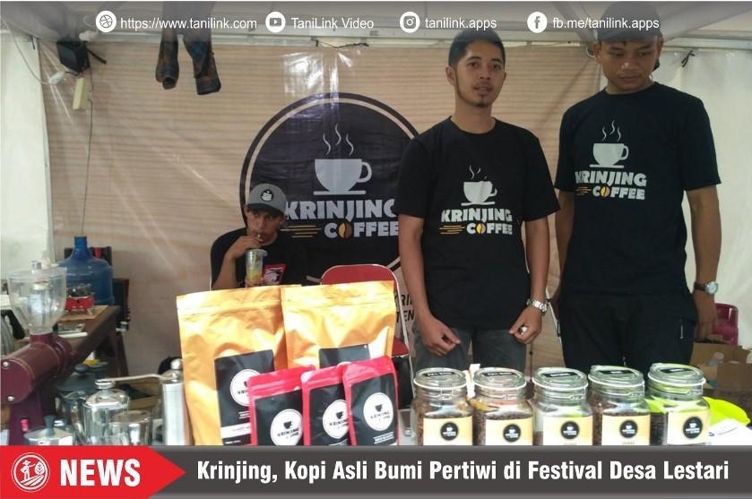 Krinjing, Kopi Asli Bumi Pertiwi di Festival Desa Lestari 2019