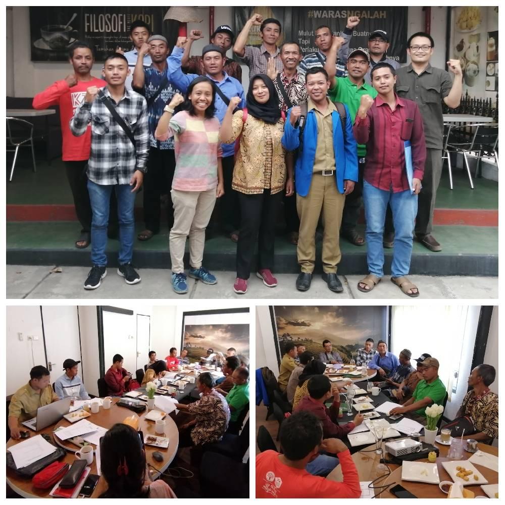 Pertemuan Tim ICS Merapi Merbabu