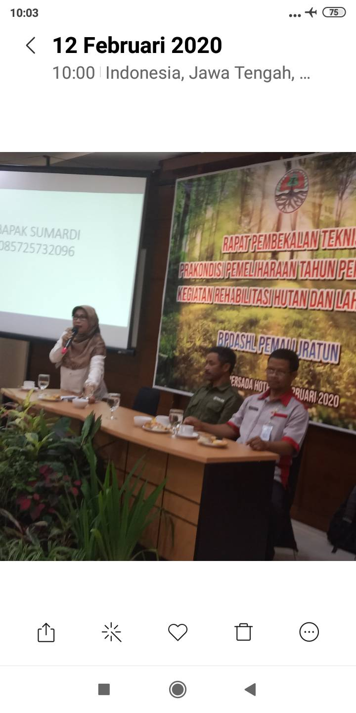 Prtemuan Ketua Paguyuban Petani Merapi Merbabu Dgn BP DAs jateng Dan 13 Klompok Kth Rembang Dan Blora