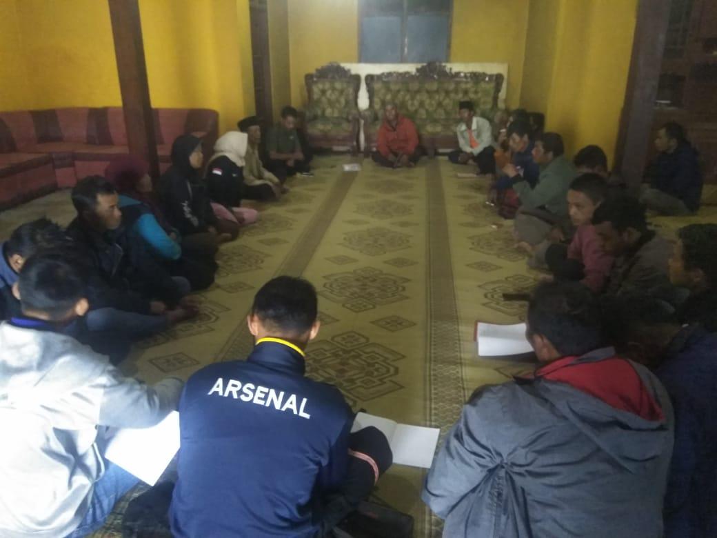 Pertemuan Rutin Dangan Ketua Paguyuban Petani Merapi Merbabu Denga  Klompom Tani Sedayu Raharjo 1