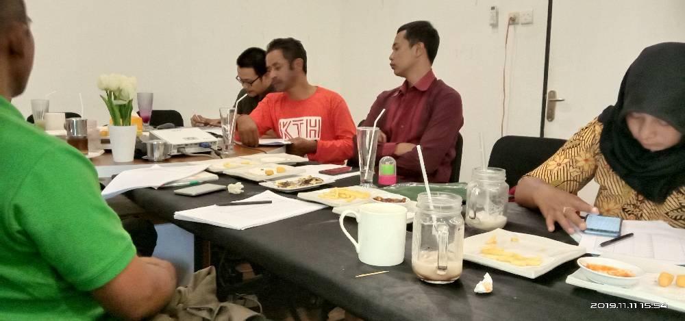pertemuan tim ICS Bawang Merah Merapi Merbabu bersama BWI